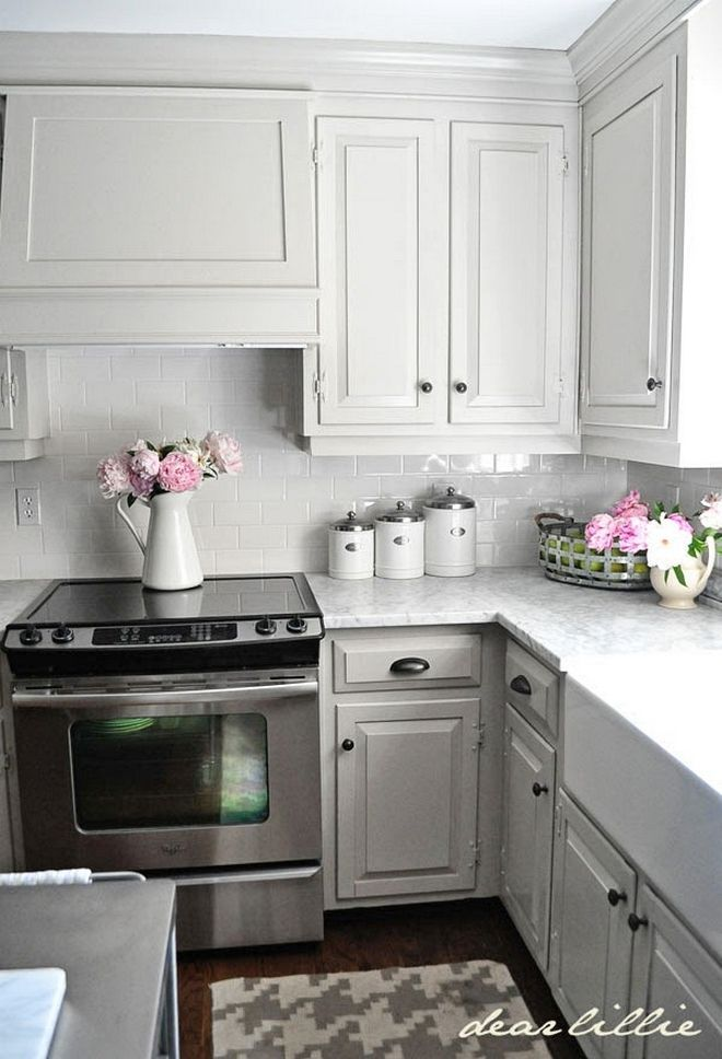 Perfect 123 Cozy And Chic Farmhouse Kitchen Cabinets Ideas https ...