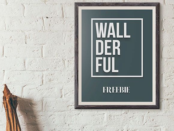 Freebie Thursday 20th Of August Wallderful Free Frame Mockups Poster Mockup Psd Frame Mockups Mockup Free Psd