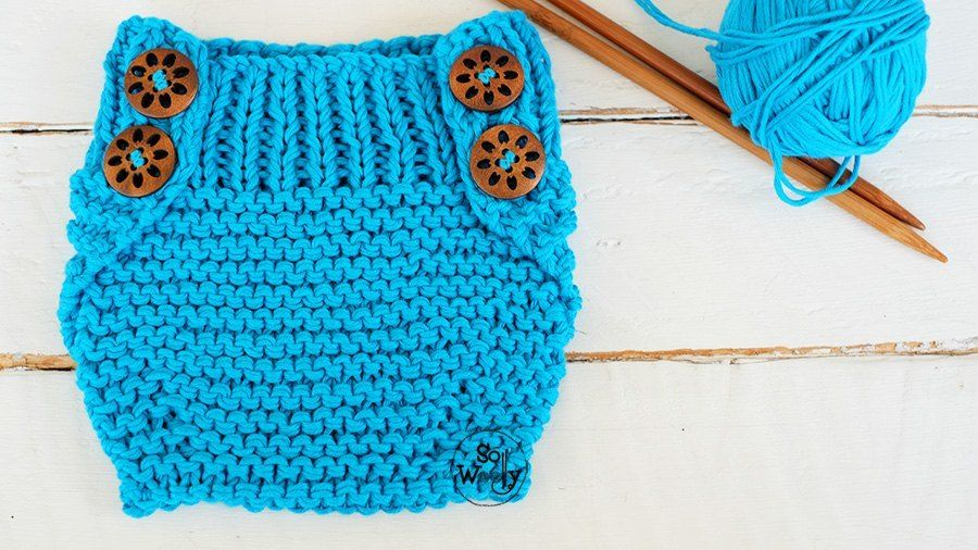 Baby Diaper Cover knitting pattern for beginners-So Woolly ...