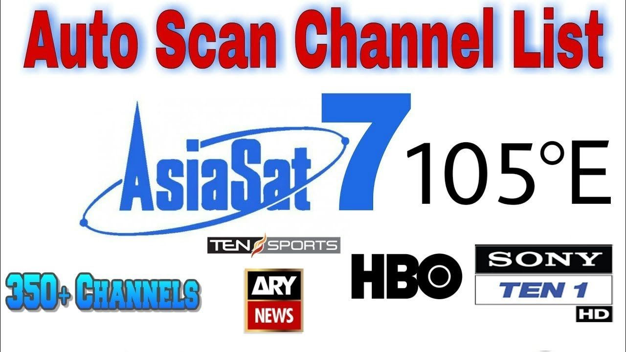 Asiasat 7 @ 105 5°E Full Channel List 23 January 2019