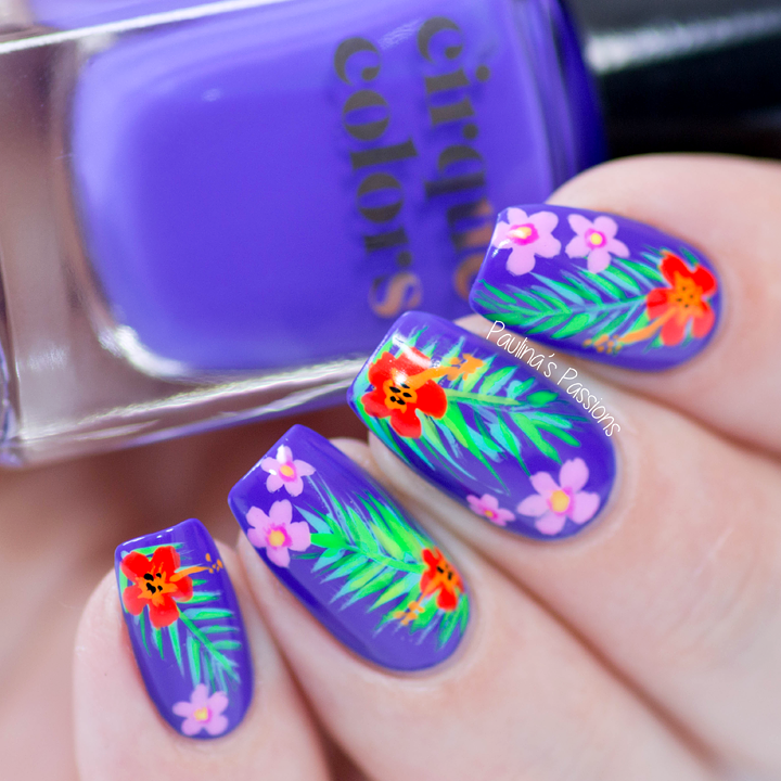 Paulinas Passionstropical Summer Nail Art Design With Video