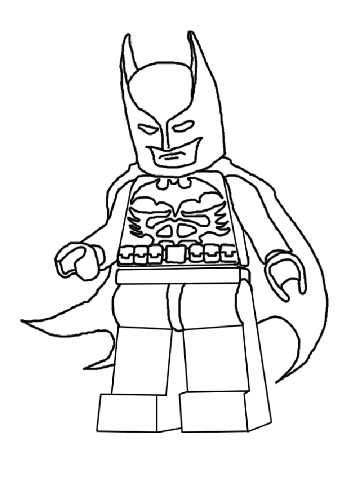 Batman Et Robin Coloriage Coloriage Batman Coloriage Lego