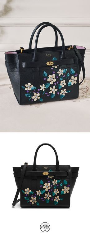 f694262234b5 clearance mulberry somerset bag a78ce 1bab7  where to buy womens bags women  mulberry shop the small zipped bayswater in flower embroidered small