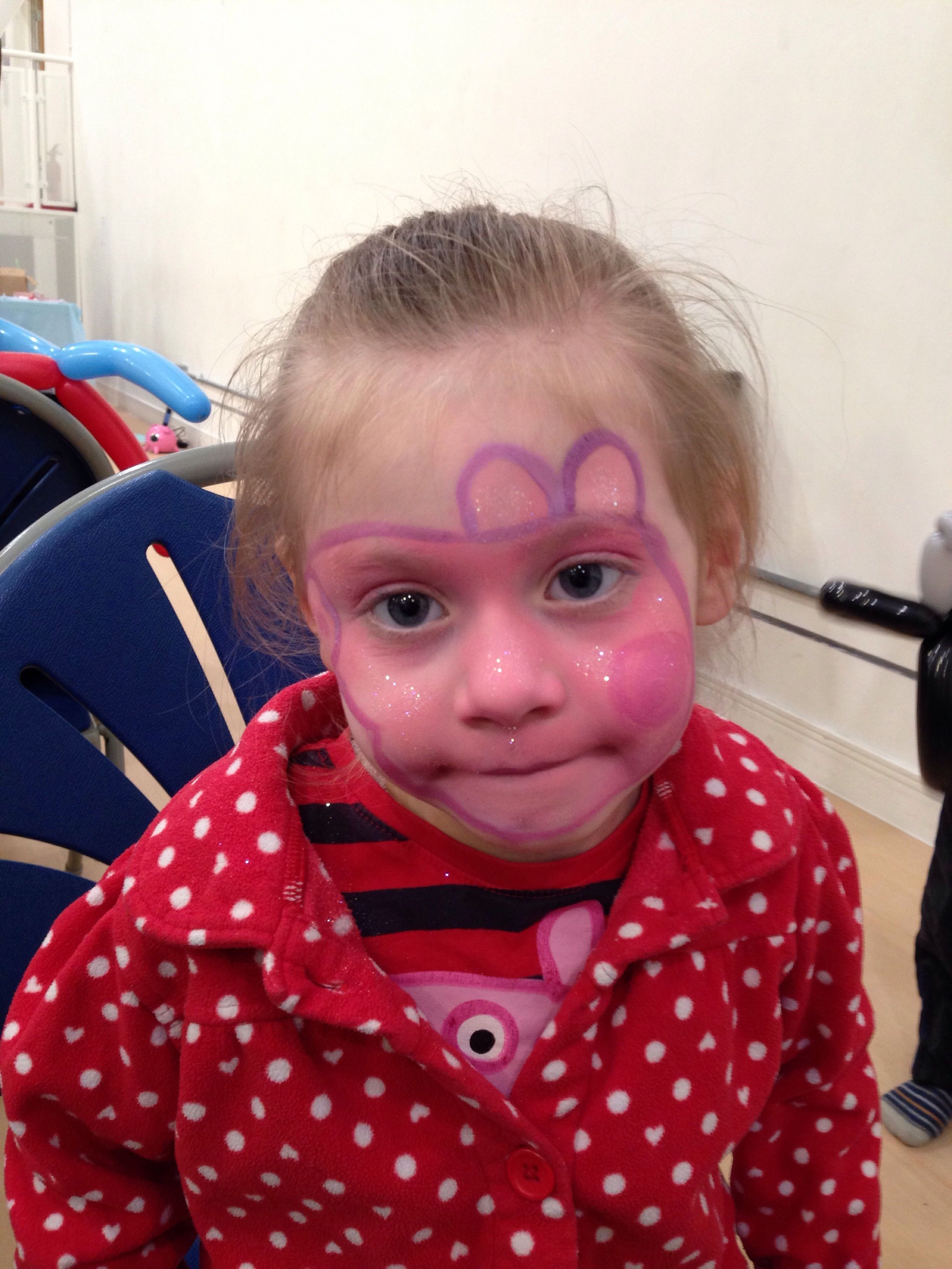 Peppa Pig - Face Painting www.mymasquerade.co.uk | Halloween ...
