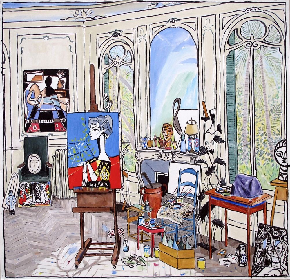 Damian Elwes Puzzle art, Inside art, Art inspiration