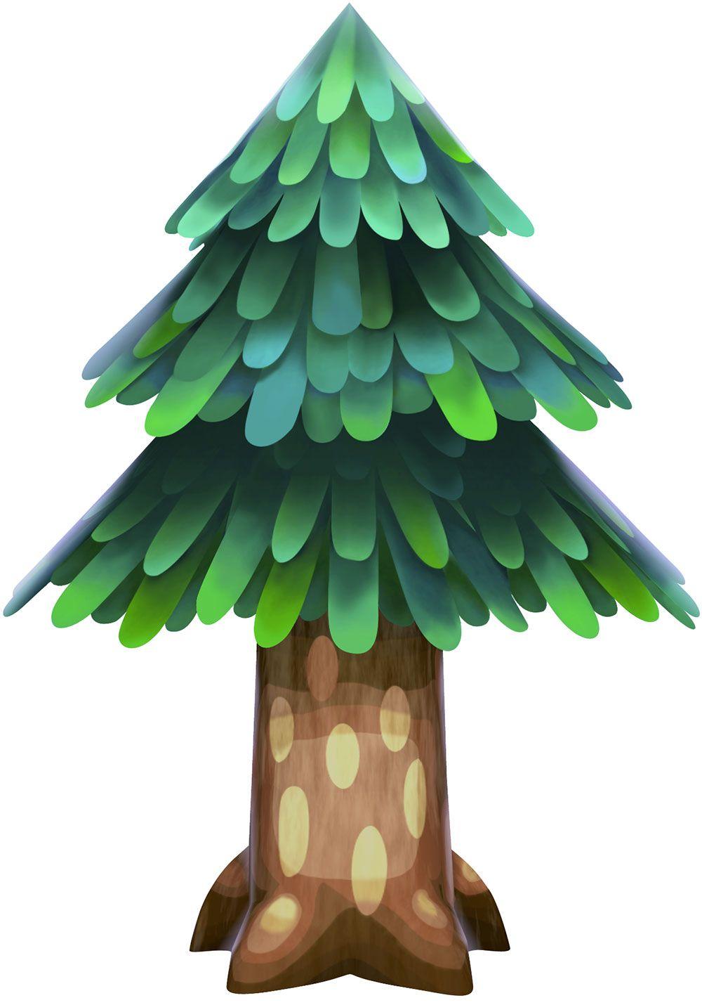 Cedar Tree Animal Crossing New Leaf ACNL Animal