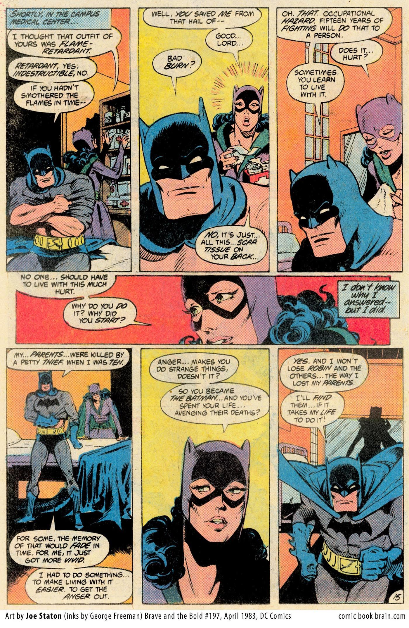 Golden Age Earth 2 Batman And Catwoman By Joe Staton From The
