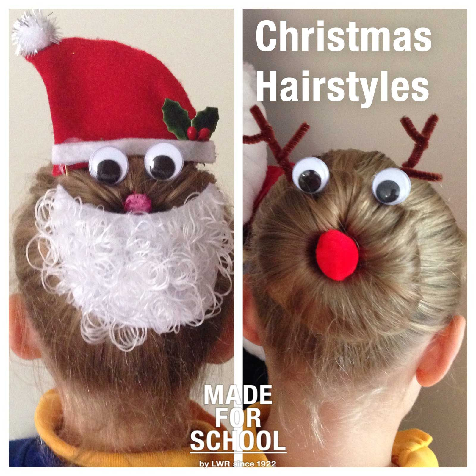Christmas hairstyles for girls check out these easy and fun