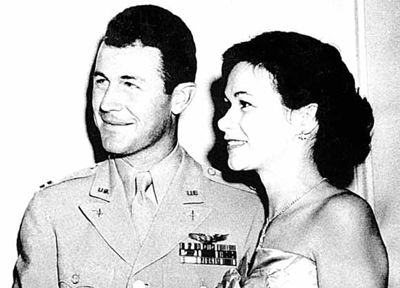 Image result for general chuck and glennis yeager
