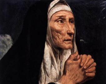 St. Monica, mother of St. Augustine, commemorated August 27  Happy Feast Day to me =)  Awesome Catholic Mom Saint!