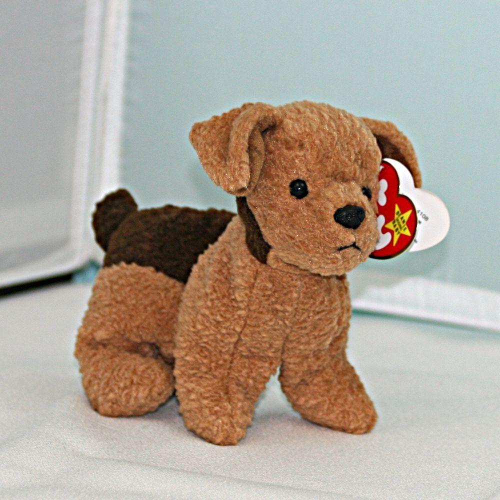 55abc754079 RARE Tuffy the Terrier Dog TY Beanie Baby style 4108