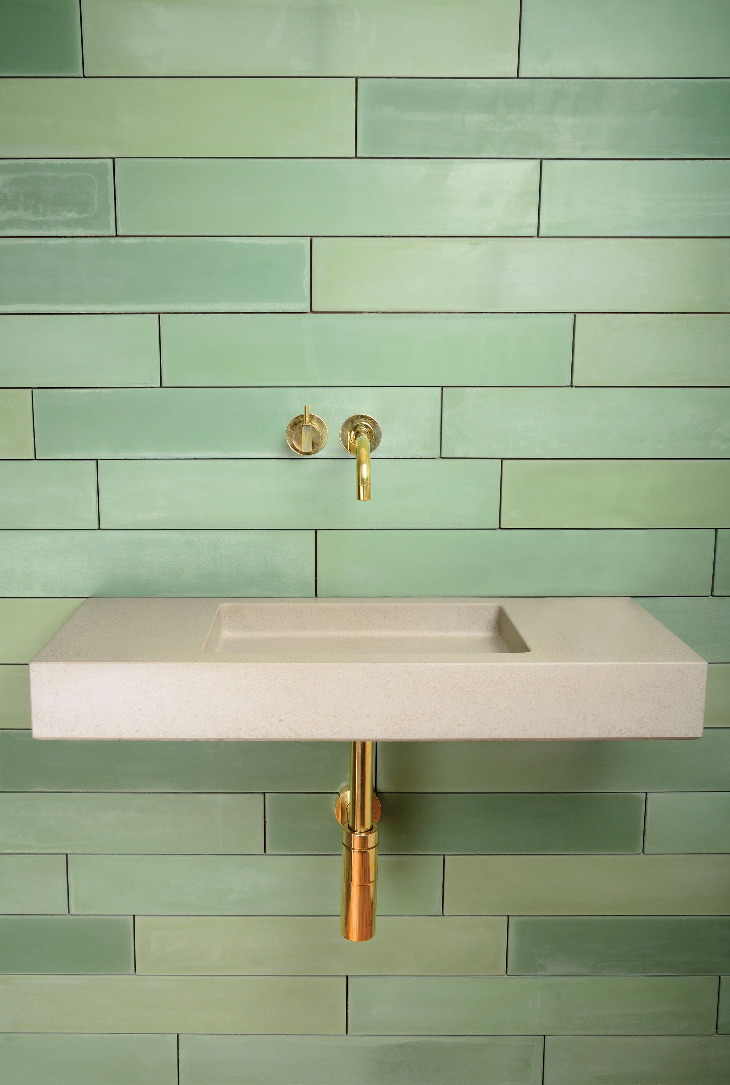 Pitch By Kast Concrete Basins In Grey White. A Robust Concrete Sink With A  Sculpted · Concrete BasinConcrete TilesShower ...