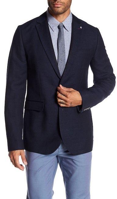 e36efd87b Ted Baker Jampot Tall Semi Plain Jacket