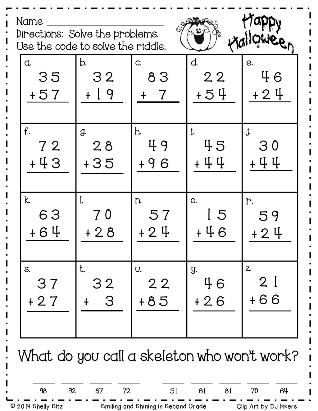 Halloween riddles.pdf Google Drive Math riddles
