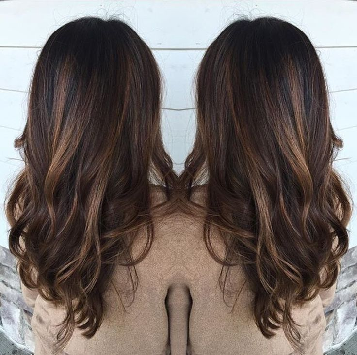 Warm Brown Hair With Balayage By Rebecca At Avante Salon And Spa