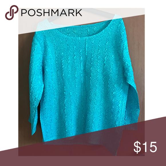d9ab9aee950 Pretty lightweight blue crinkle cloth top 🌼 Super lightweight