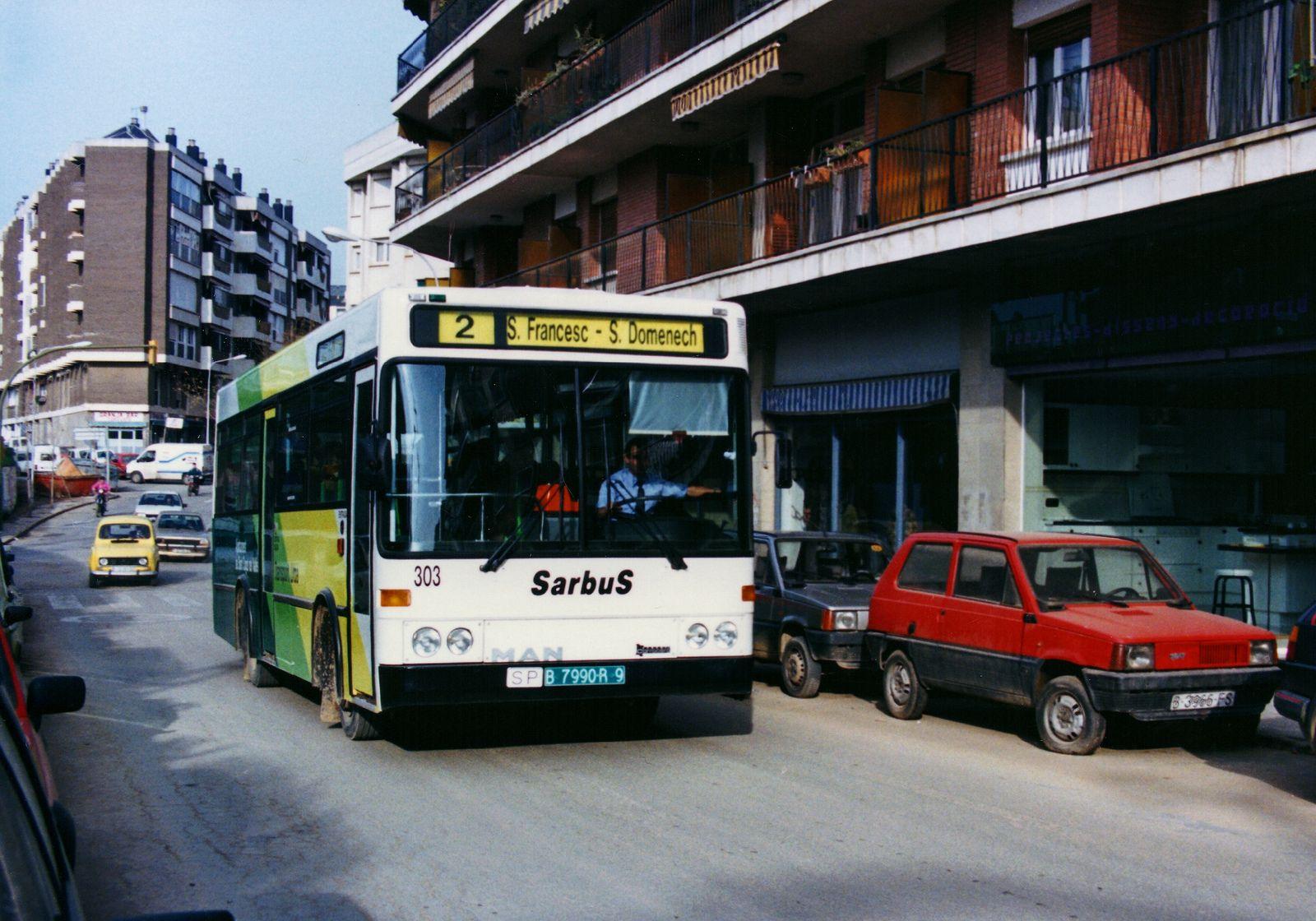 Sant Cugat, avinguda d'Alfons Sala 12.12.1989