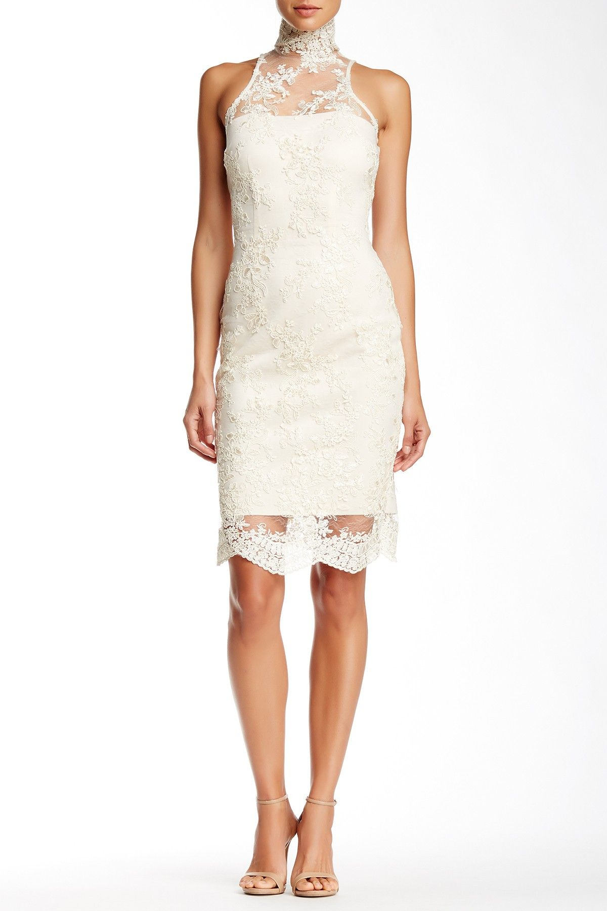 Issue New York Sleeveless Lace Dress Fashion, Formal