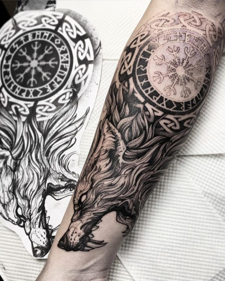 2020 Cool Tattoo Ideas To Copy En 2020 Tatuajes Vikingos Tatuajes Tatuajes Tribales