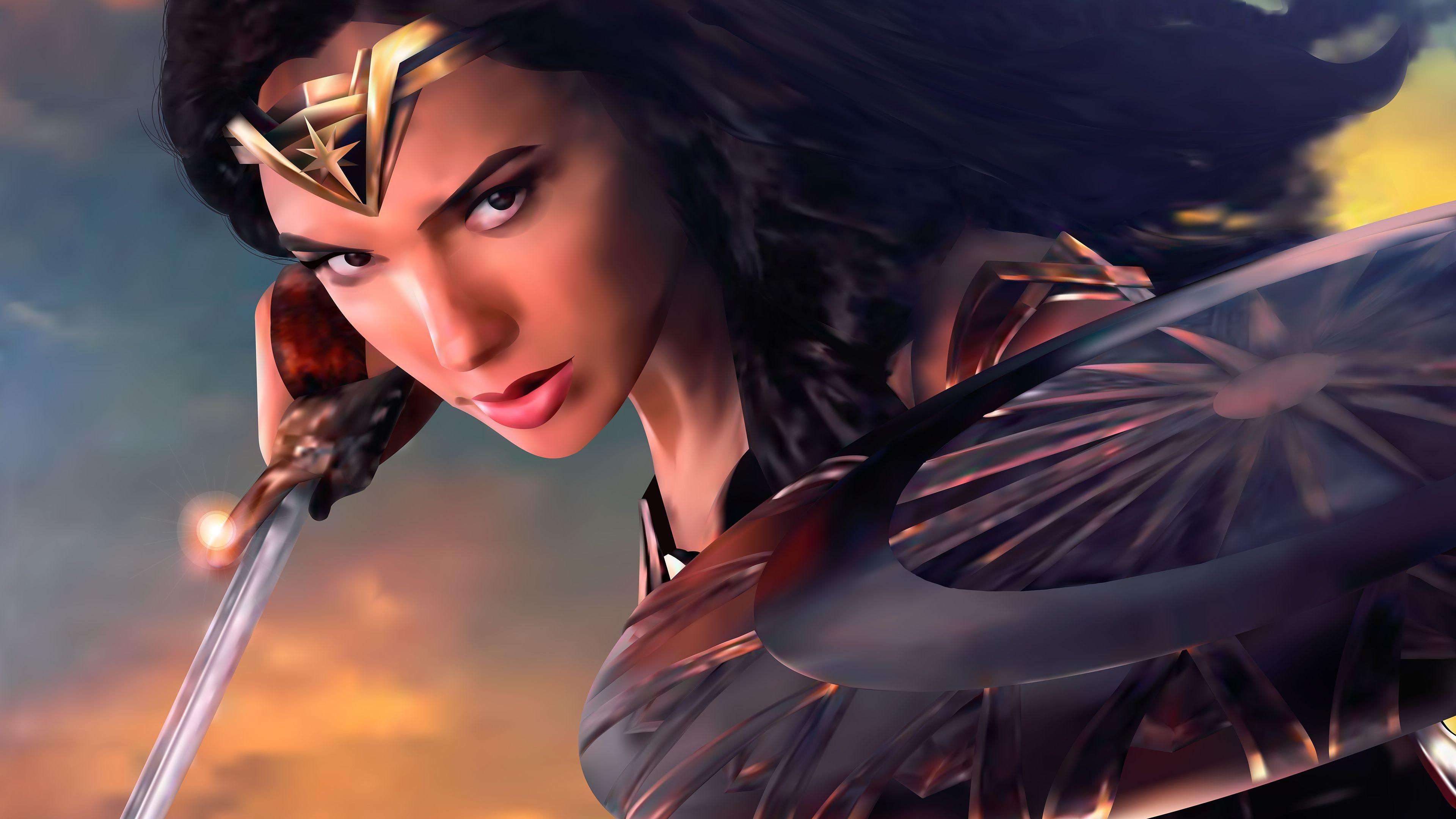 Wonder Woman Digital Artwork 4k New Wonder Woman Wallpapers Superheroes Wallpapers Hd Wallpapers Digital Art W Digital Artwork New 4k Wallpaper Wonder Woman