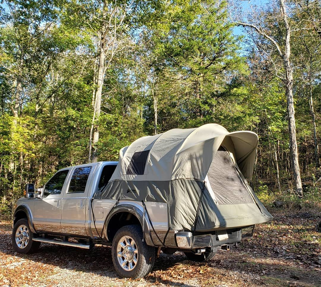 We love our Kodiak Canvas truck Bed tent Off the ground