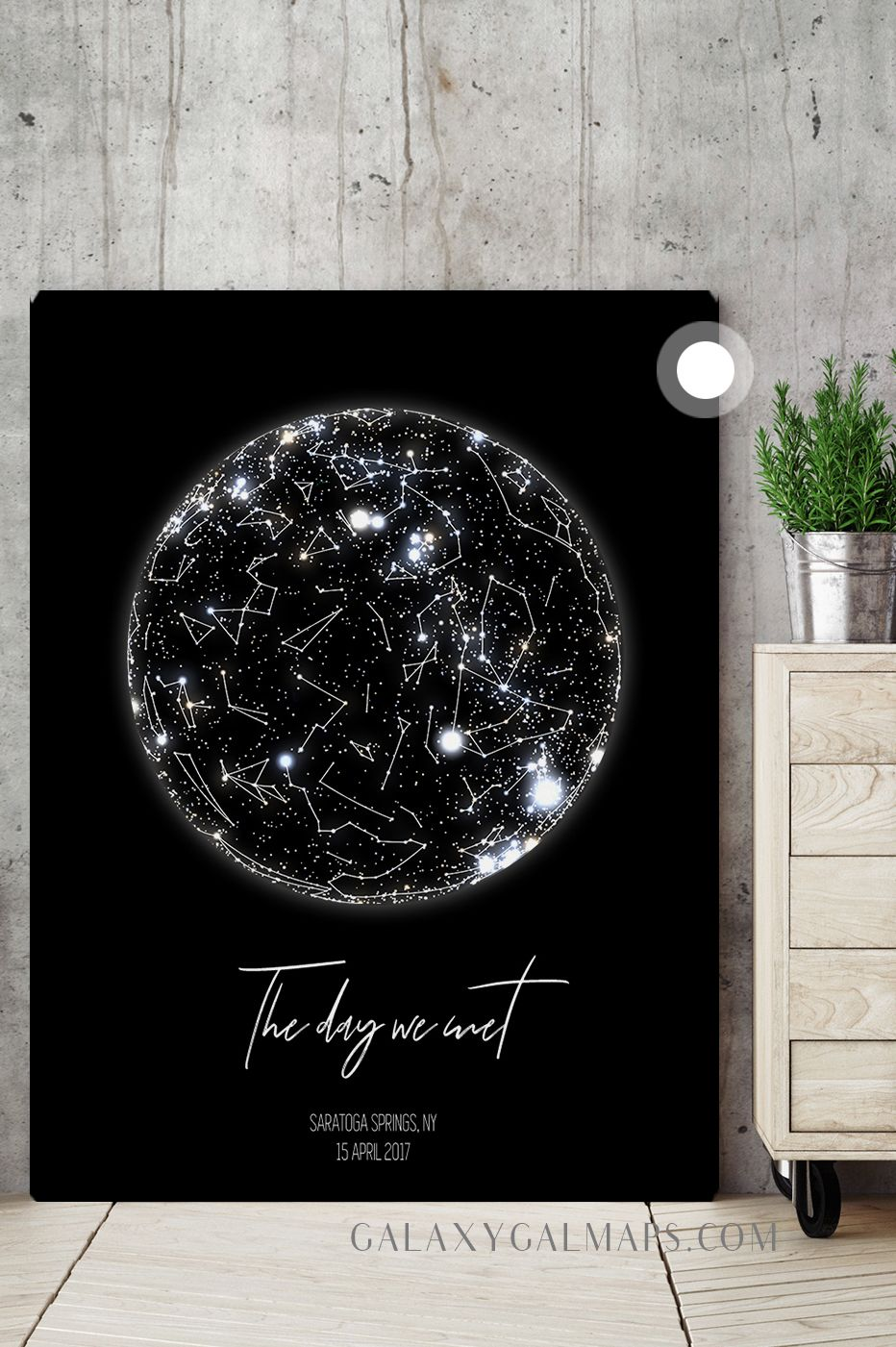 Custom Star Map 10th Anniversary Gift For Men 10 Year For Women Ten Year Present Mens Anniversary Gifts 10th Anniversary Gifts Anniversary Gifts For Couples