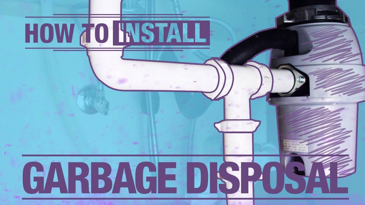 How To Install: A Garbage Disposal | From Inspiration To Reality ...