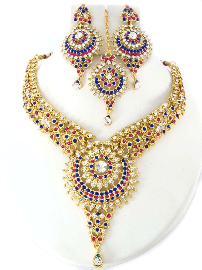 Buy Party Wear Gold Color Jewellery Online Partywear Jewellery