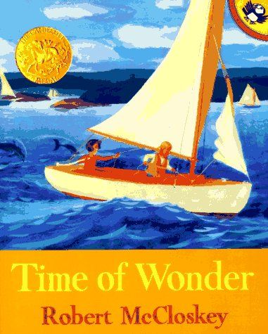 The spell of rain, gulls, a foggy morning, the excitement of sailing, the quiet of the night, the sudden terror of a hurricane, and the peace of a Maine island as a family packs up to leave are shown in poetic language and vibrant, evocative pictures.
