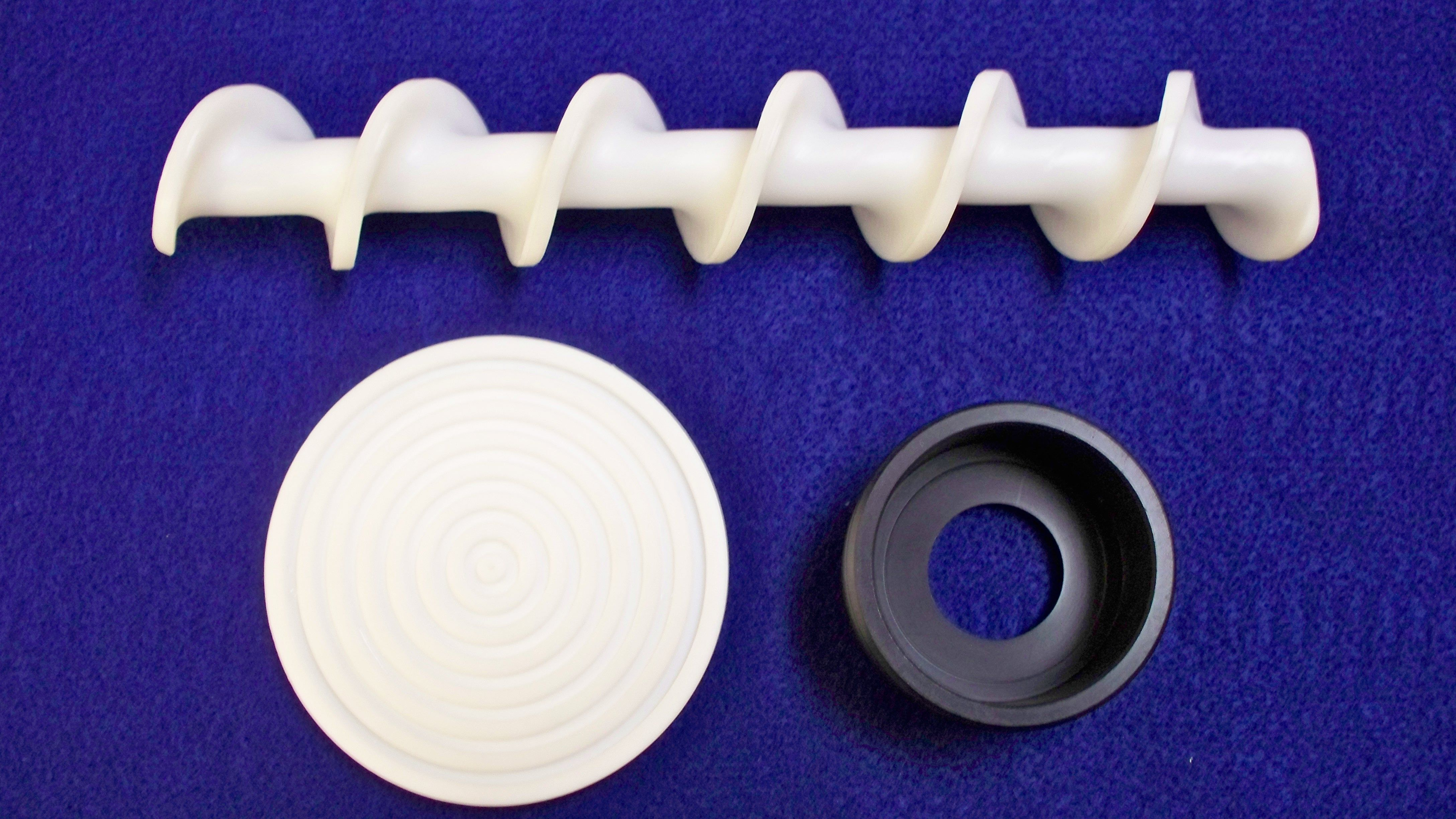 Machined Industrial Grade Plastic Materials