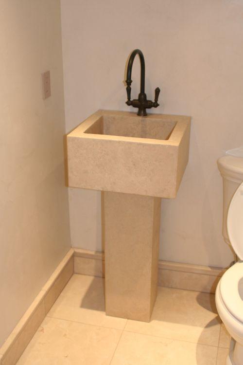 Concrete Pedestal Sink Www.jmlifestyles.com
