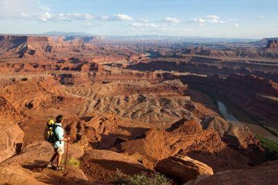 The Maze Canyonlands National Park Utah Scorching temperatures