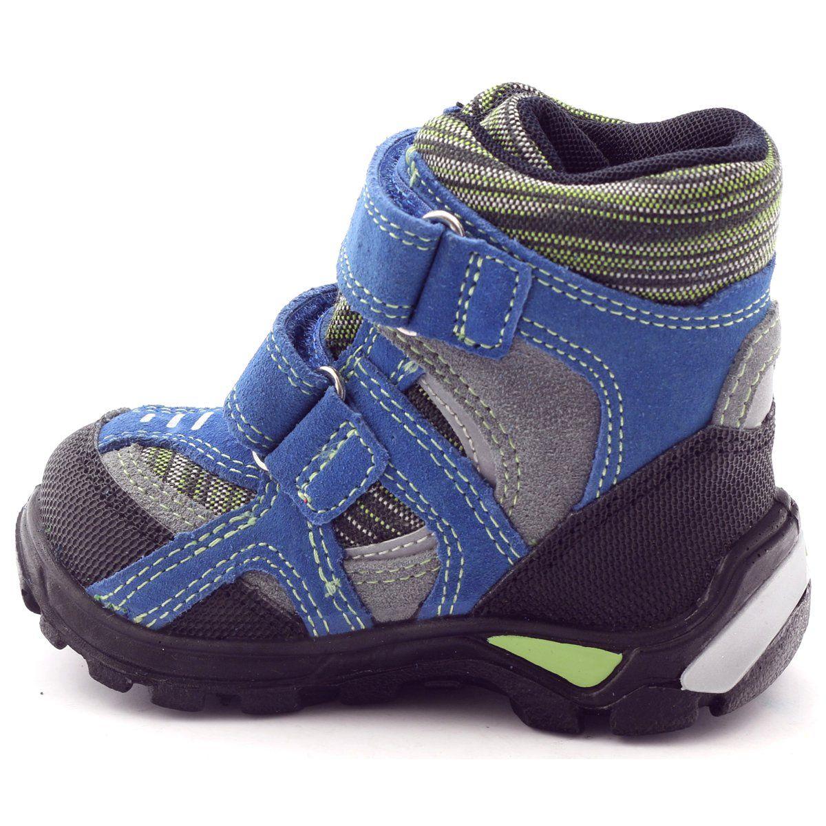Kozaczki Dla Dzieci Bartek Zielone Niebieskie Czarne Trzewiki Z Membrana Bartek 91929 Szare Childrens Boots Kid Shoes Boots
