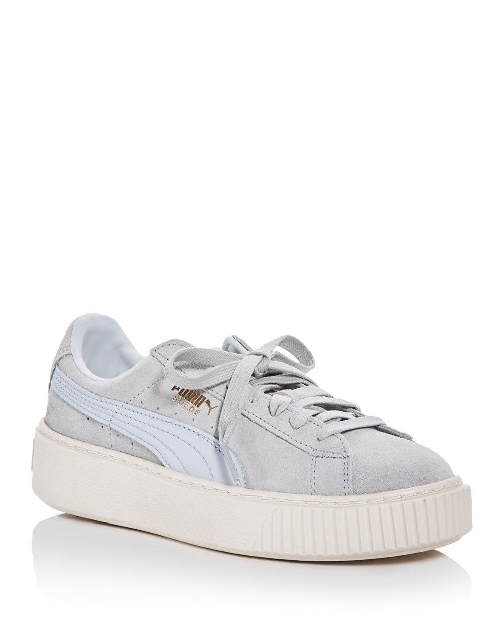 los angeles 6653d 75ed4 PUMA PUMA Women s Core Lace Up Platform Sneakers.  puma  shoes  all