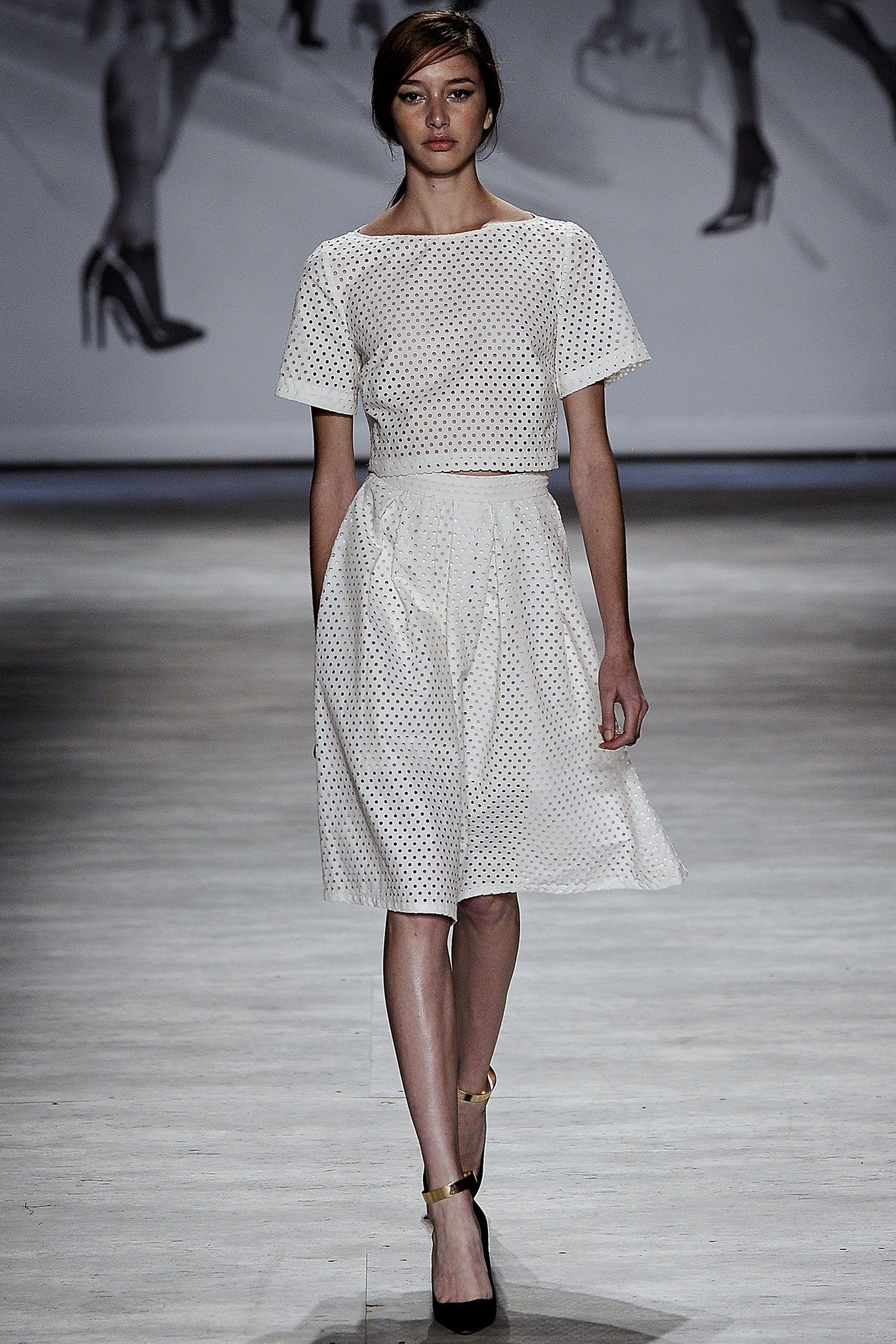 a41e541467 Lela Rose Spring 2015 Ready-to-Wear Fashion Show - Karime Bribiesca (The  Society)
