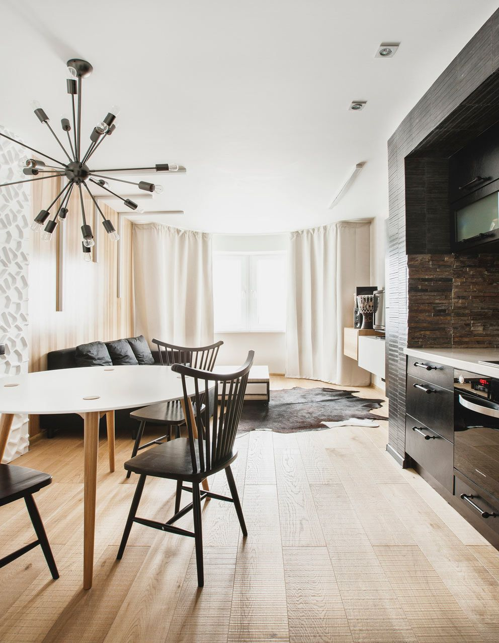 An Apartment with Interiors Inspired by Travels to Africa