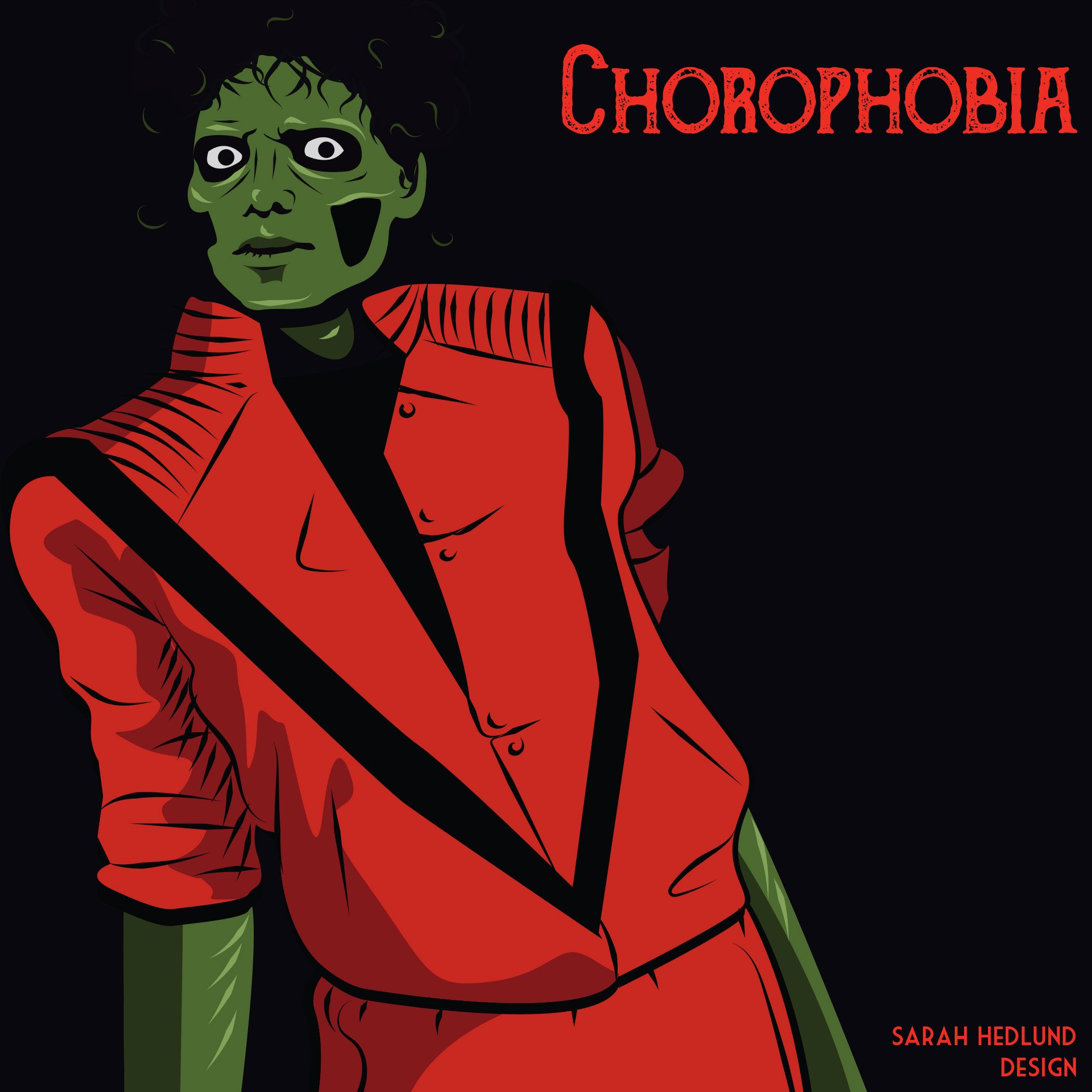 sarah hedlund 31 days of phobias - Phobia Halloween