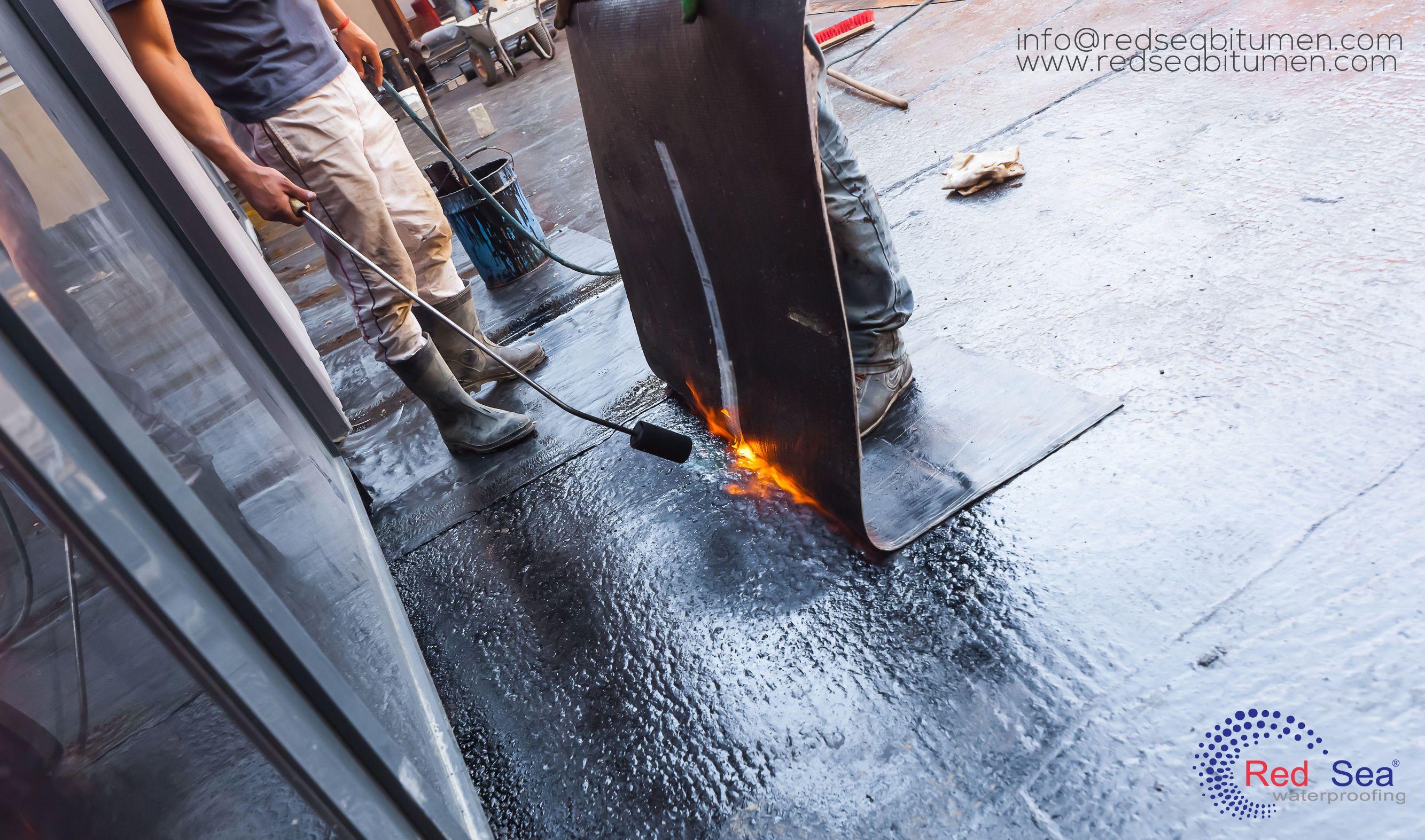 Waterproofing Factory in Jeddah Red Sea Bitumen is