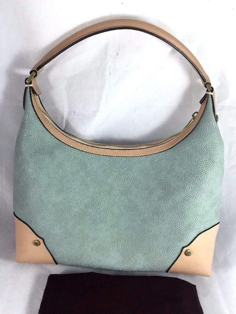 Mulberry Scotchgrain And Leather Handbag Shoulder Bag Shoulderbag