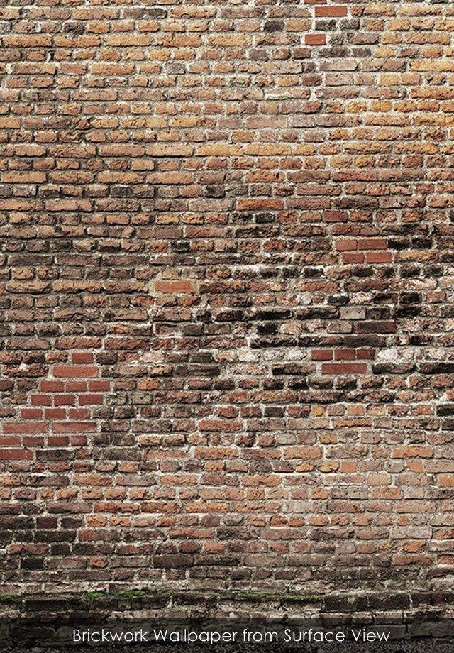 0e171e7539839 Brickwork wallpaper from Surface View