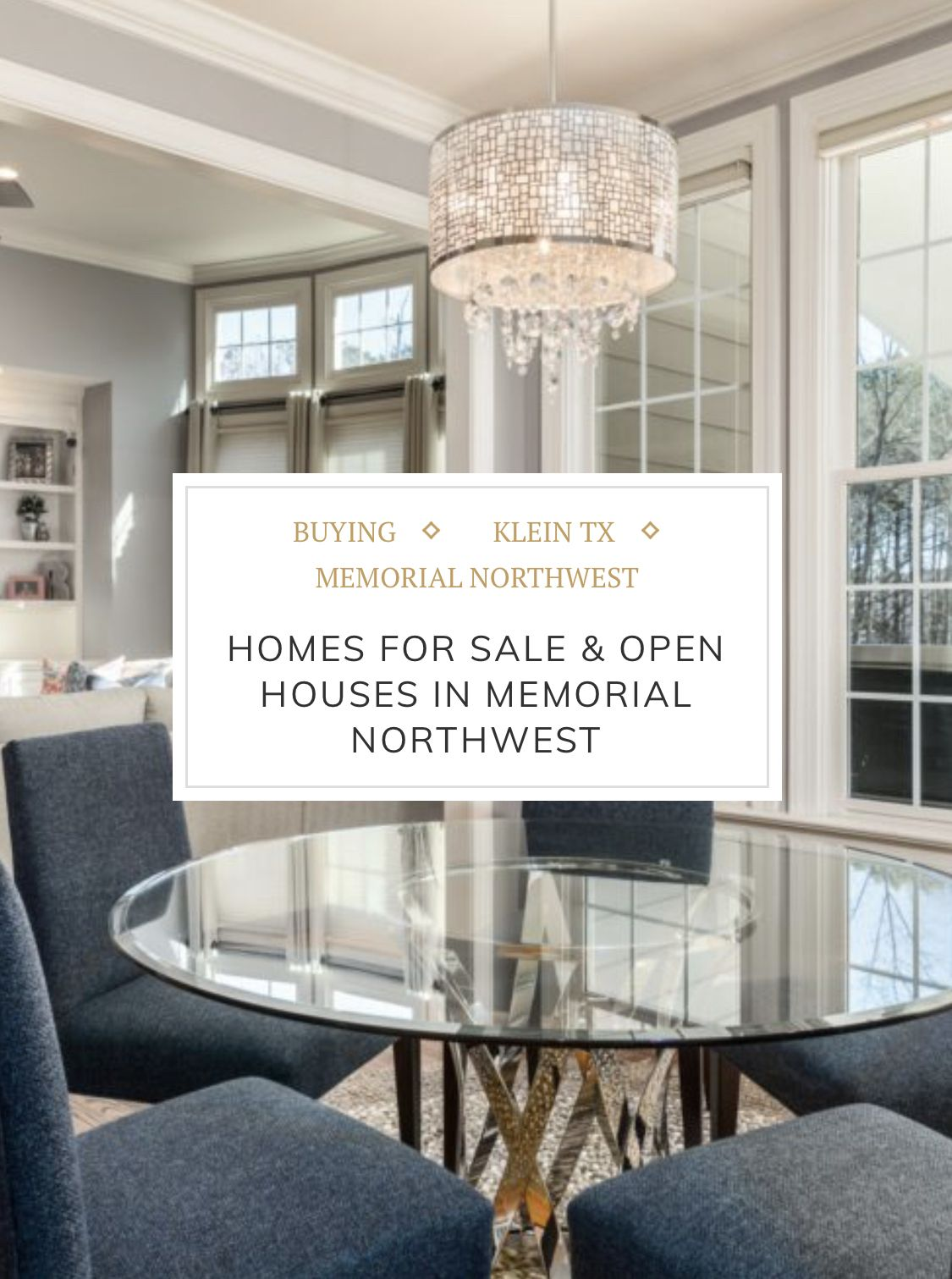 Homes for sale and open houses in Memorial Northwest