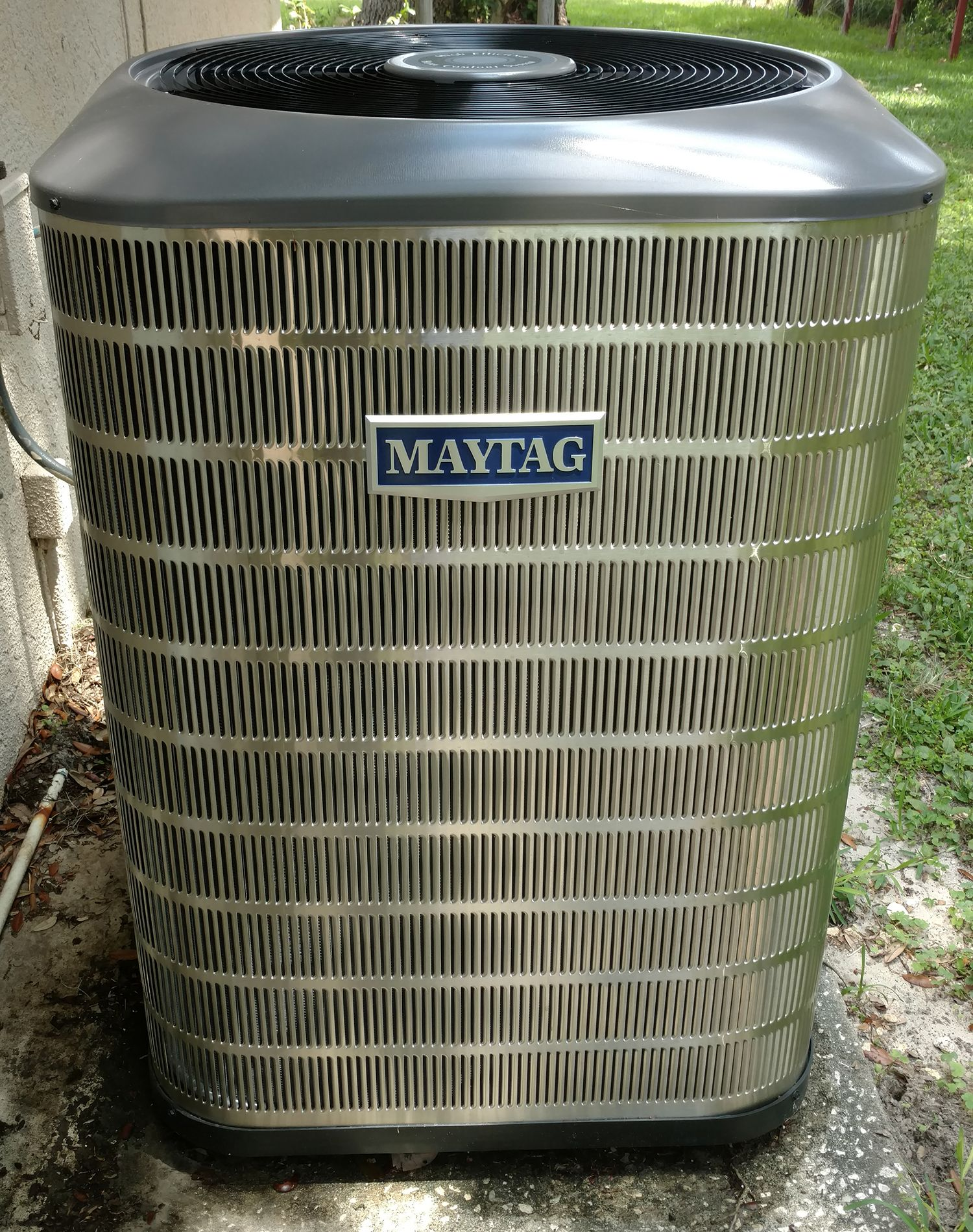 Beautiful Stainless Steel Maytag Air Conditioner Installed By Beacon Services Www Beaconsaves Air Conditioner Installation Maytag Air Conditioner Installation