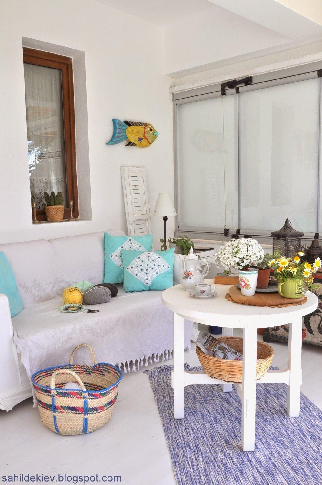 İç mekan stilleri: Ev dekorasyonunda Akdeniz tarzı