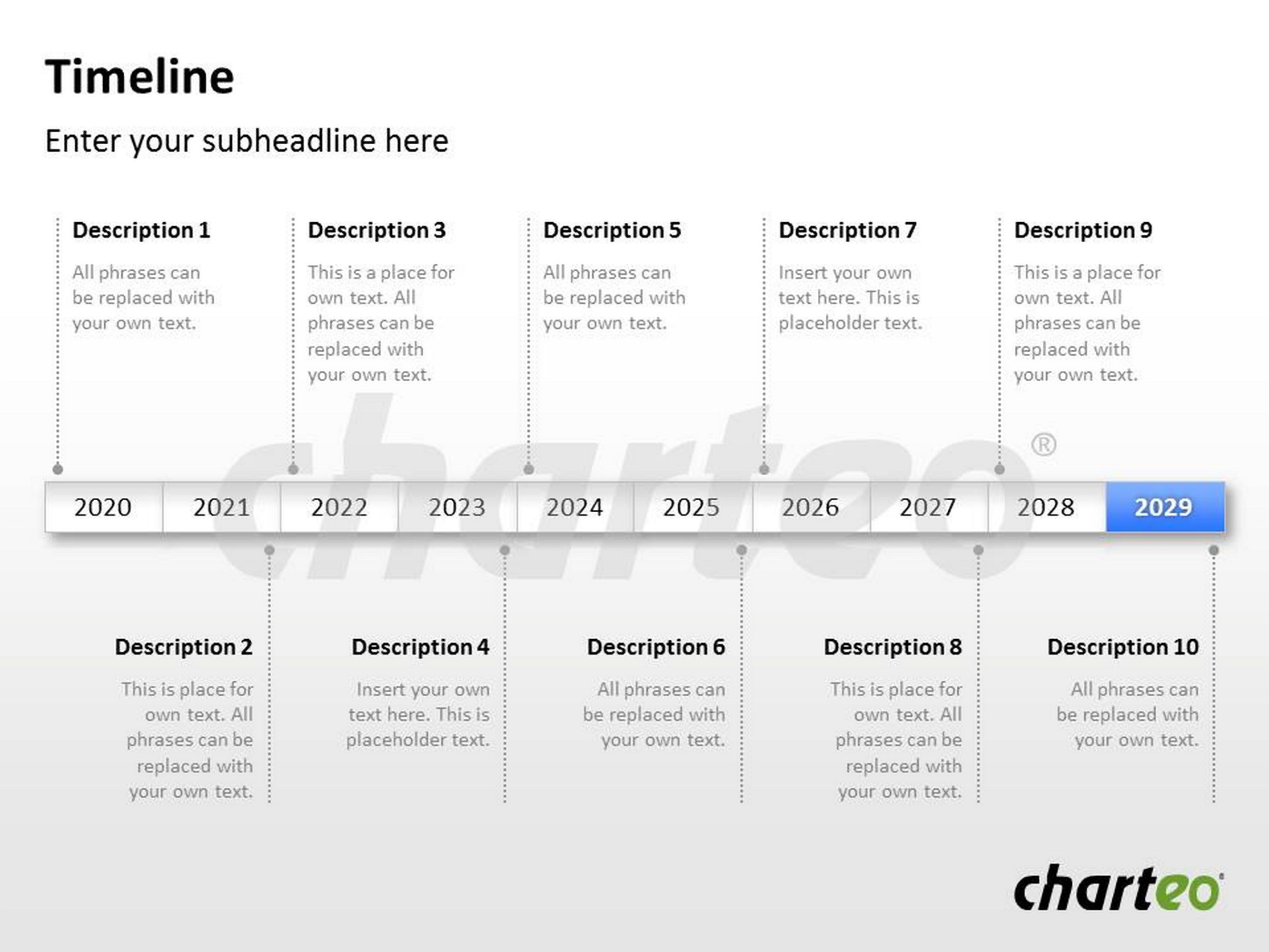 This Timeline Template For Powerpoint Enables You To Explain