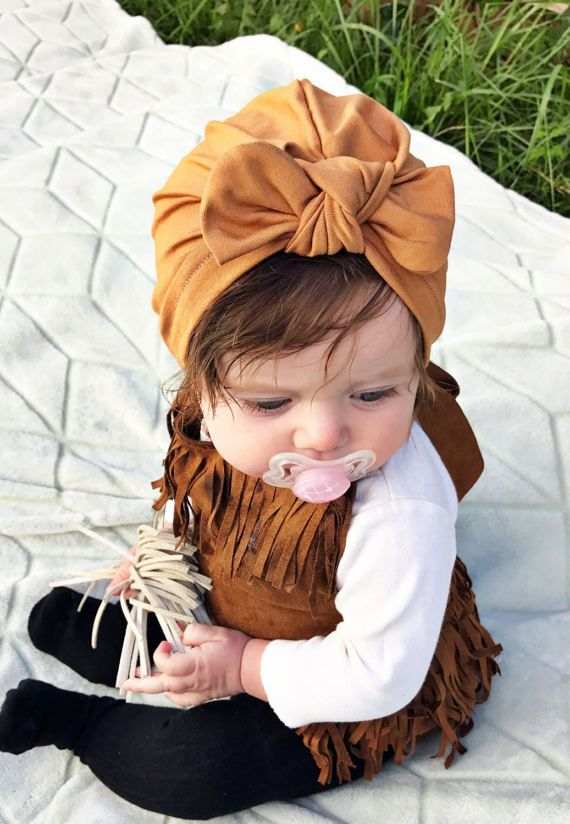 65ee84537fc Camel   baby turban hat with bow turbans for by turbansfortots