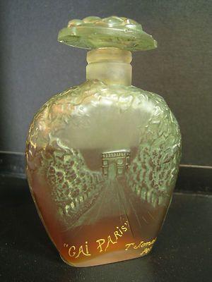 RARE Viard Figural Art Glass Antique Perfume Bottle GAI Paris by T Jones | eBay