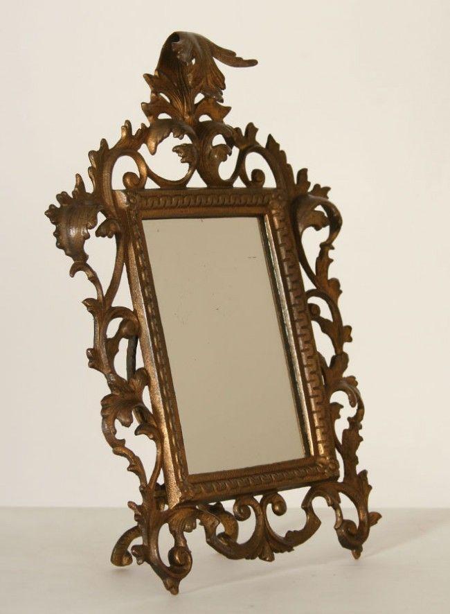 Antique Ornate Rococo Style Mirror, c.1930 | Mirrored ...
