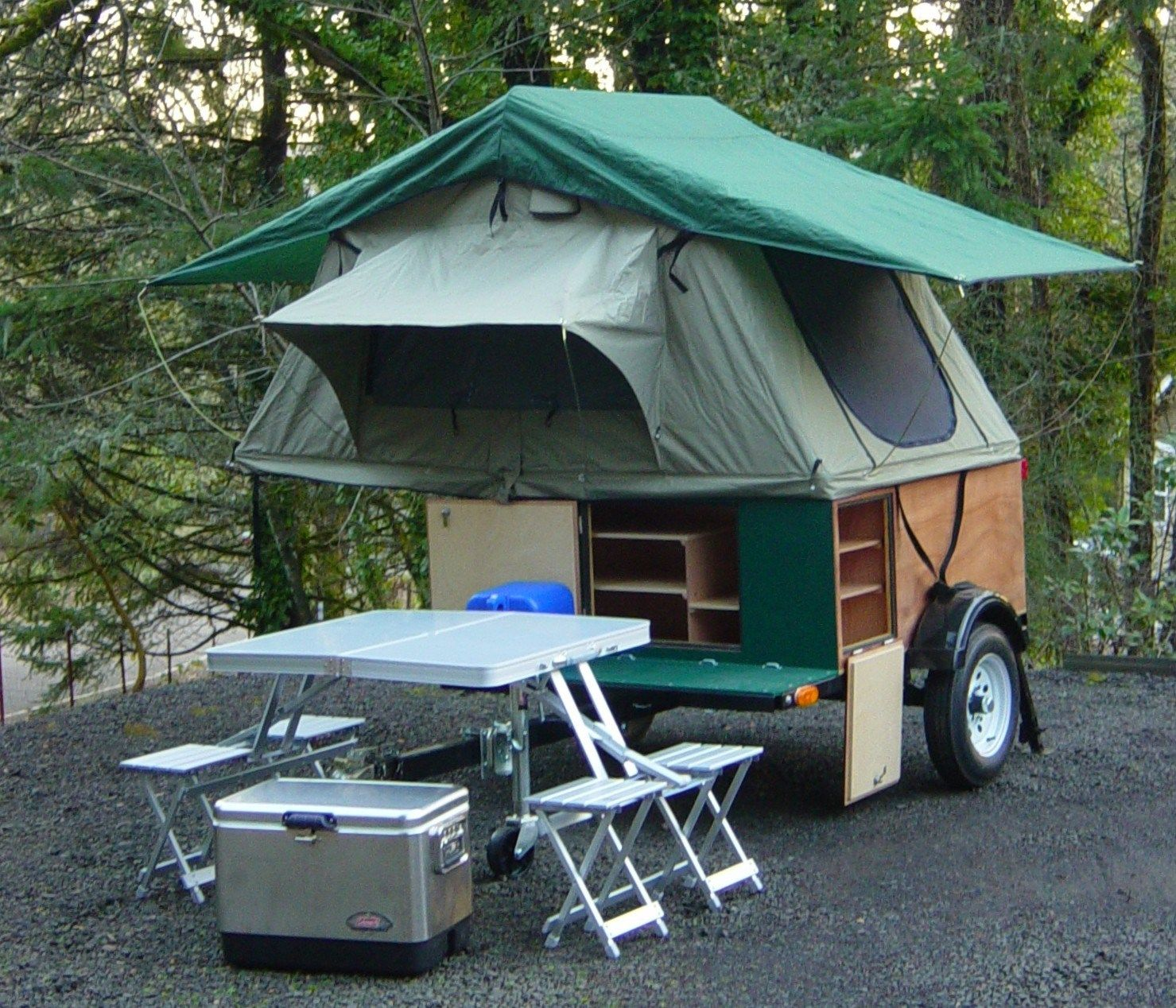 Compact Camping Concepts Diy Camper Trailer Diy Tent