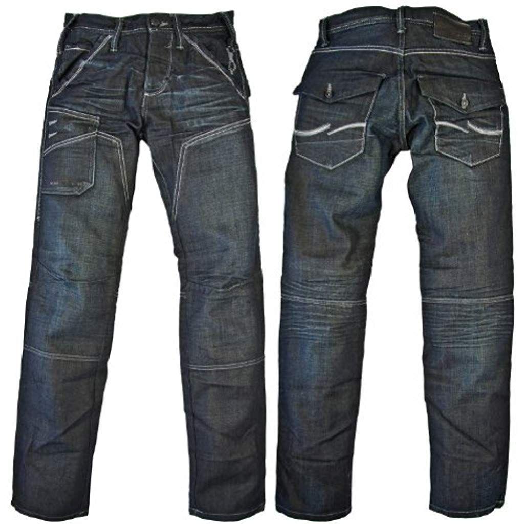 LAUSONS Pantaloni Jeans Bambino e Ragazzo Invernali con Elastico in Vita
