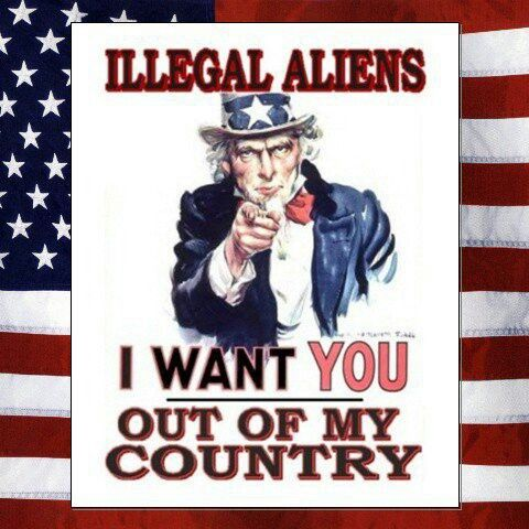 "If ""illegal aliens"" leave this country there will nobody left to do all the jobs they do."